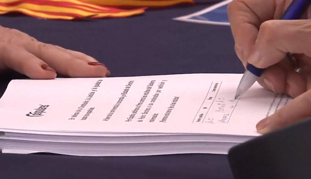 El PP reúne firmas contra los indultos del 'procés'