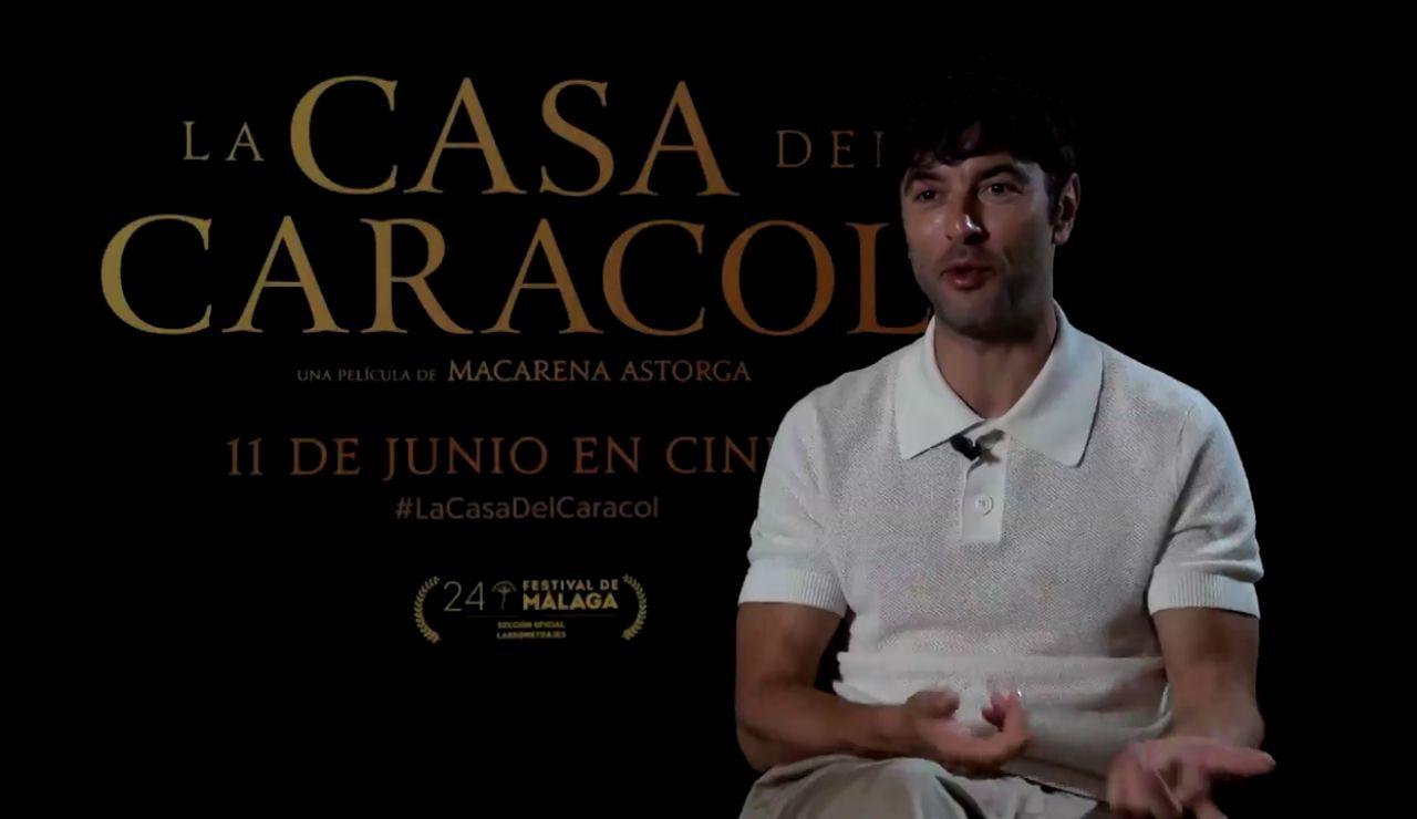 """Javier Rey sobre la película 'La Casa del Caracol': """"Tenía la sensación constante de que no la íbamos a hacer"""""""