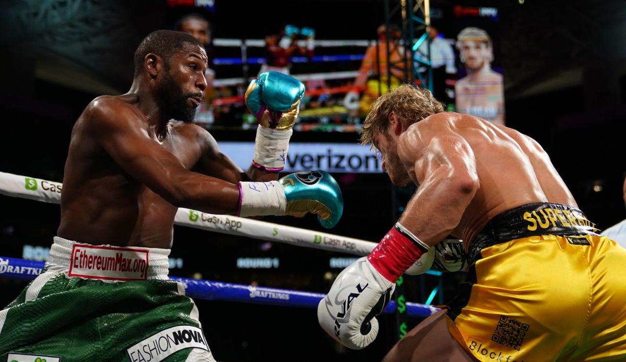 ¿Cuánto dinero ganaron Floyd Mayweather y Logan Paul por su exhibición de boxeo?