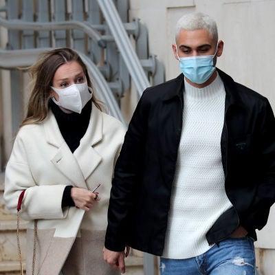 Ester Expósito y Alejandro Speitzer, en Madrid