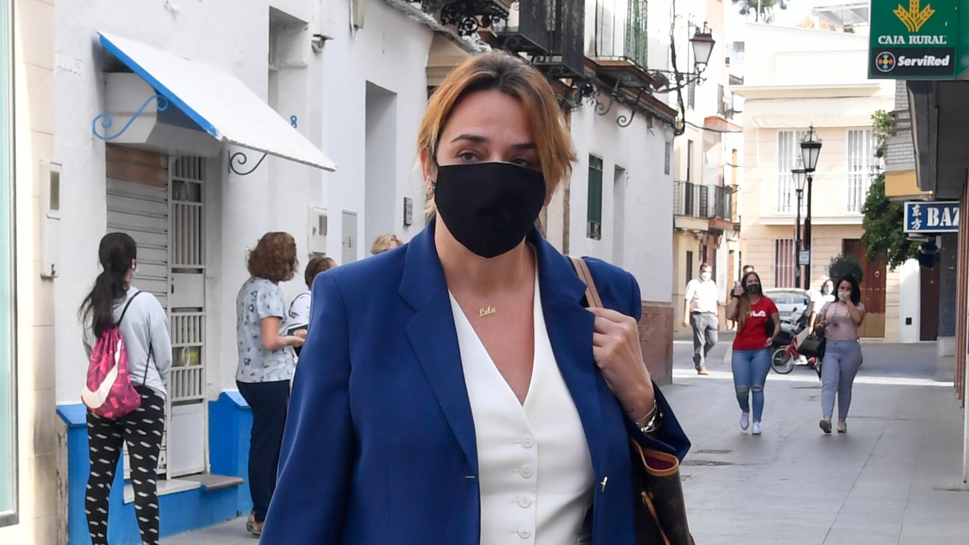 Toñi Moreno, en Sevilla