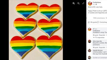 Pastelería Confections en Facebook