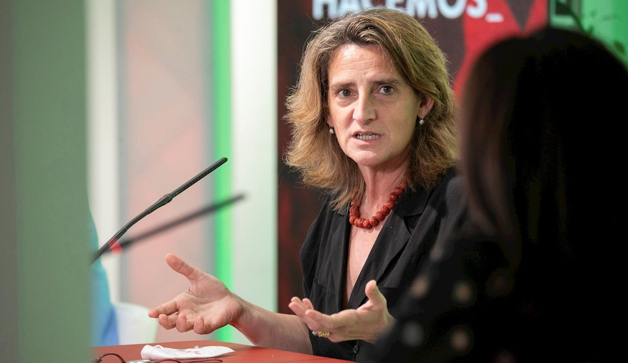 Teresa Ribera, vicepresidenta cuarta del Gobierno y ministra para la Transición Ecológica y el Reto Demográfico