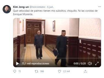 Tuit de @norcoreano