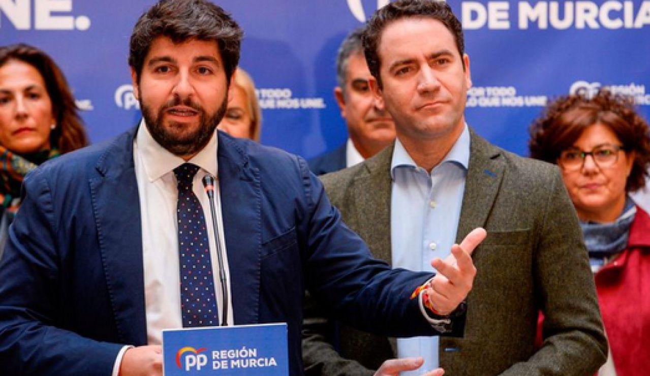 El PP se querella por una información que atribuye a López Miras una presunta mediación para operar a un familiar de Teodoro García Egea