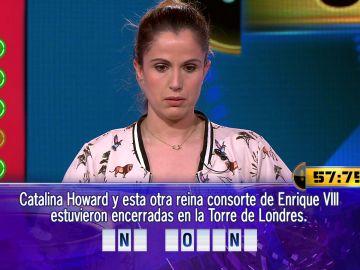 Dos preguntas y quince segundos separan a Mariela de 59.000 euros