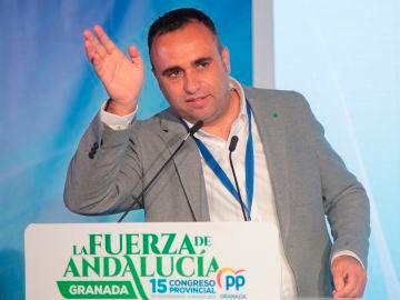 El presidente del PP de Granada, Francisco Rodríguez
