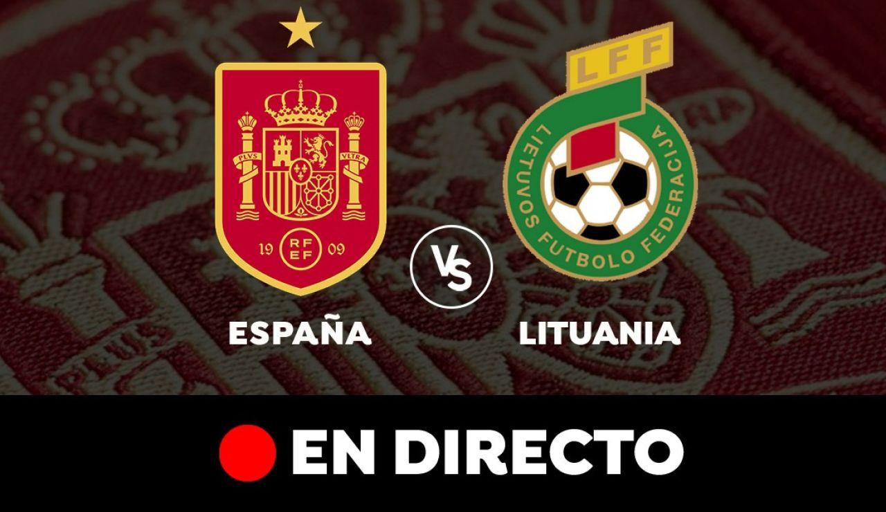 España - Lituania: Partido previo a la Eurocopa 2021, en directo