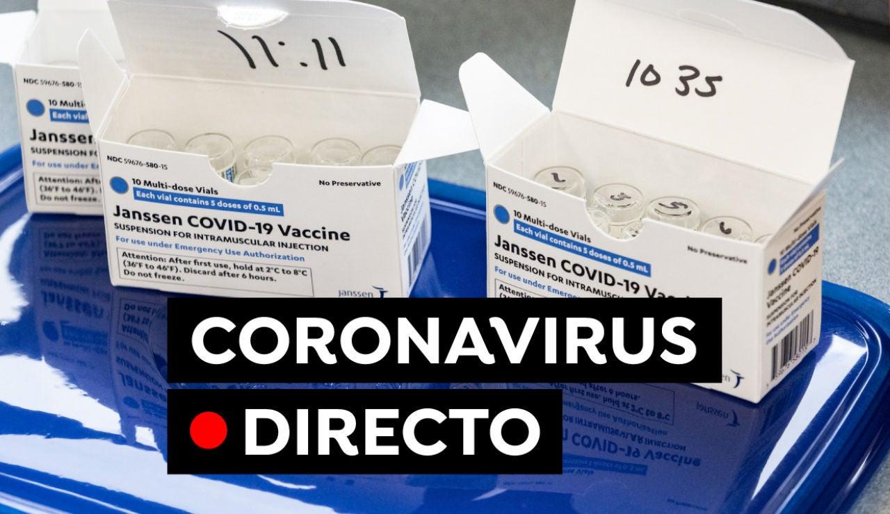 Coronavirus en España hoy: Plan de vacunación, nuevas restricciones y última hora, en directo