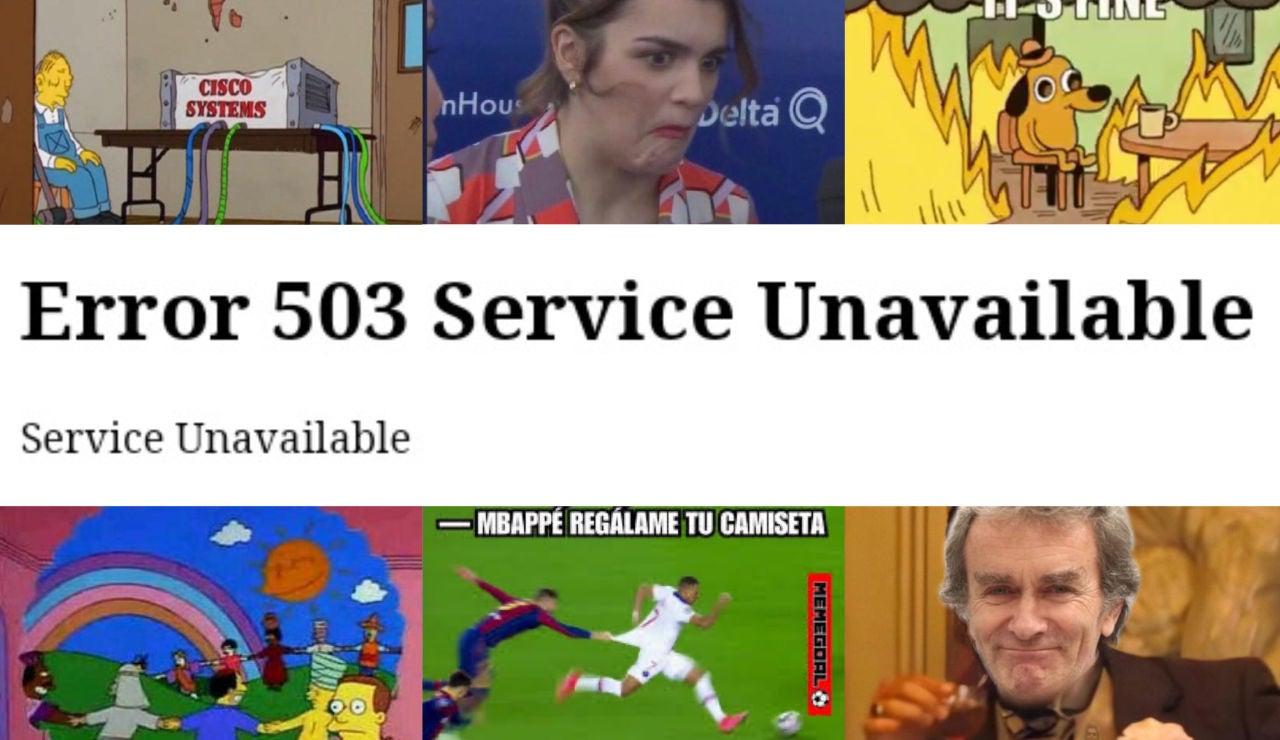 Los mejores memes del apagón de Internet que han viajado por las redes sociales