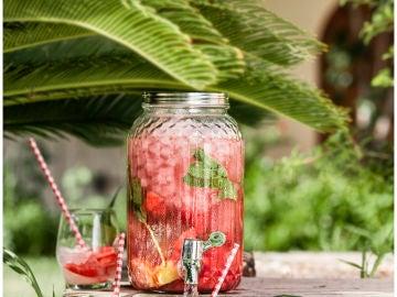 Agua de sandía Bouquet, un refresco ideal