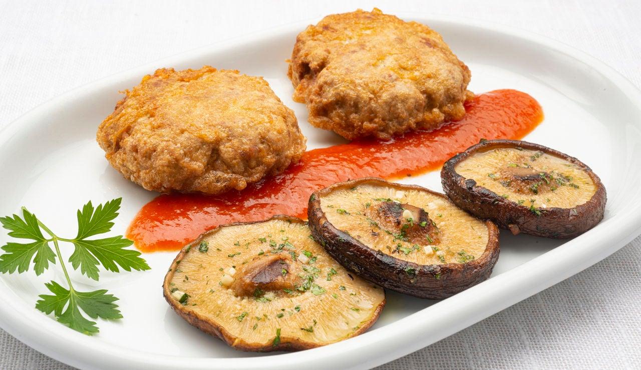 Receta rápida de Karlos Arguiñano: filetes rusos con queso