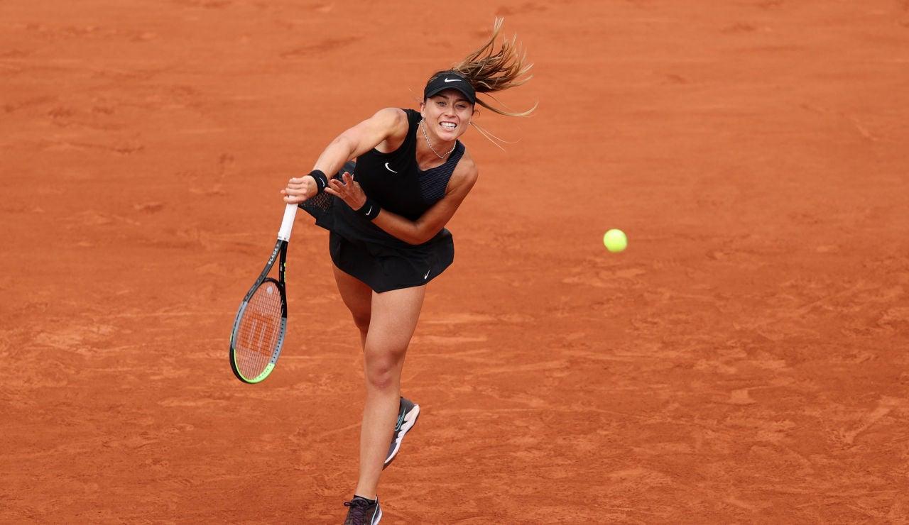 Paula Badosa cae en la orilla frente a Zidansek y se queda a las puertas de las semifinales de Roland Garros