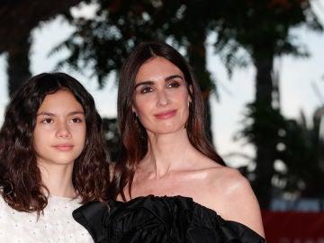 Paz Vega y su hija Ava