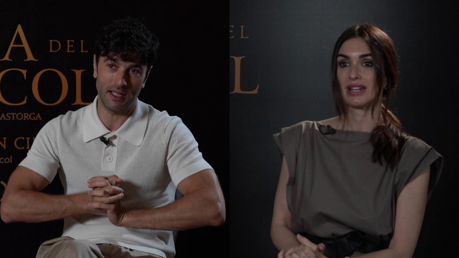 Javier Rey y Paz Vega, protagonistas de 'La casa del caracol'