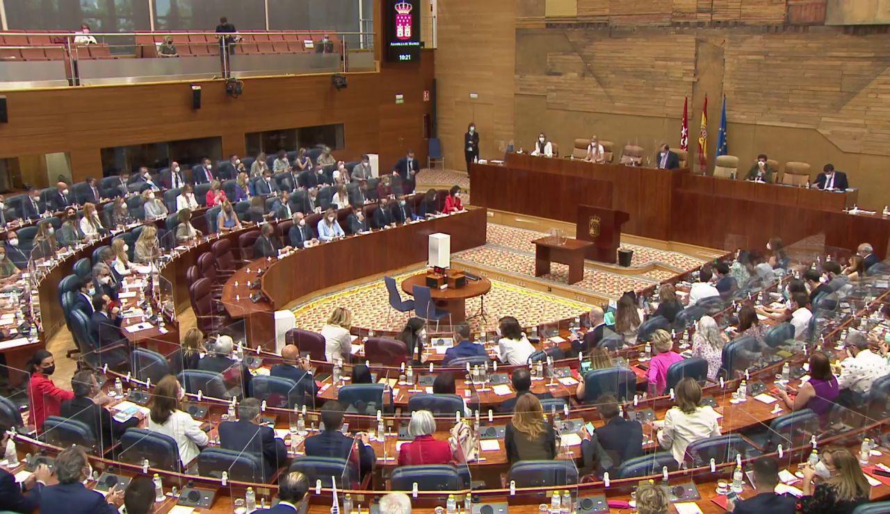 Así ha sido constitución de la Mesa de la Asamblea de Madrid, en vídeo