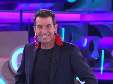 Arturo Valls 'copia' el outfit de Mariela en '¡Ahora caigo!'