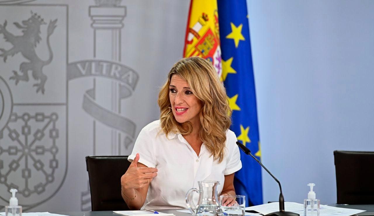 Yolanda Díaz, reforma laboral