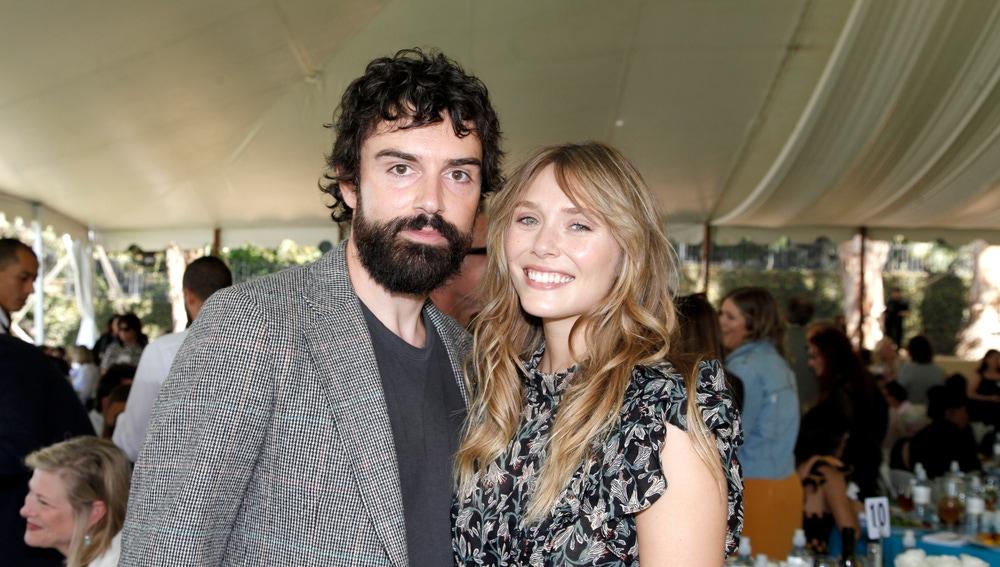 Elizabeth Olsen y su marido Robbie Arnett