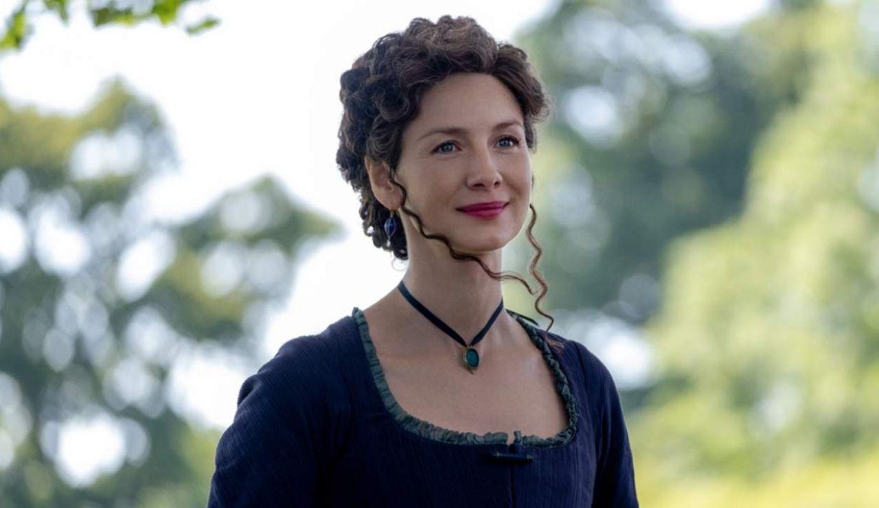 Caitriona Balfe como Claire en 'Outlander'