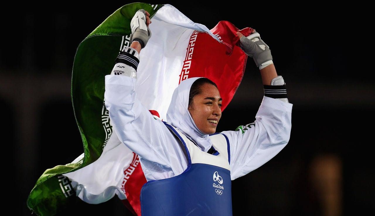 Kimia Alizadeh, única medallista olímpica en la historia de Irán, decide abandonar su país y competirá en los Juegos Olímpicos bajo bandera blanca