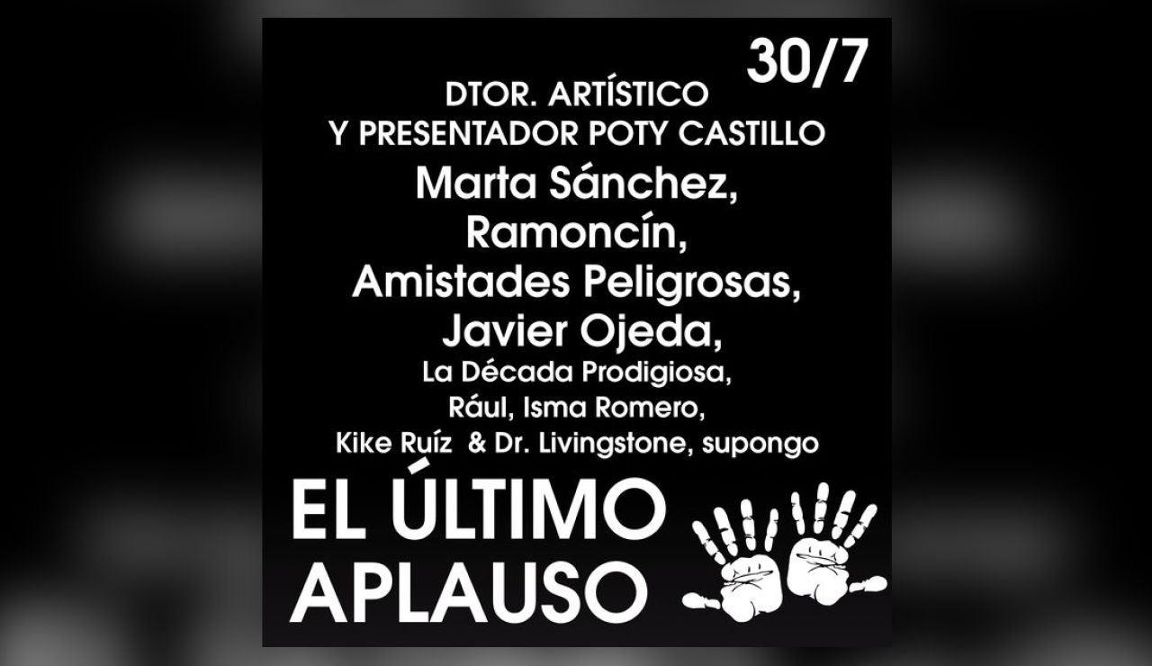 """""""El último aplauso"""" en Starlite el 30 de julio"""