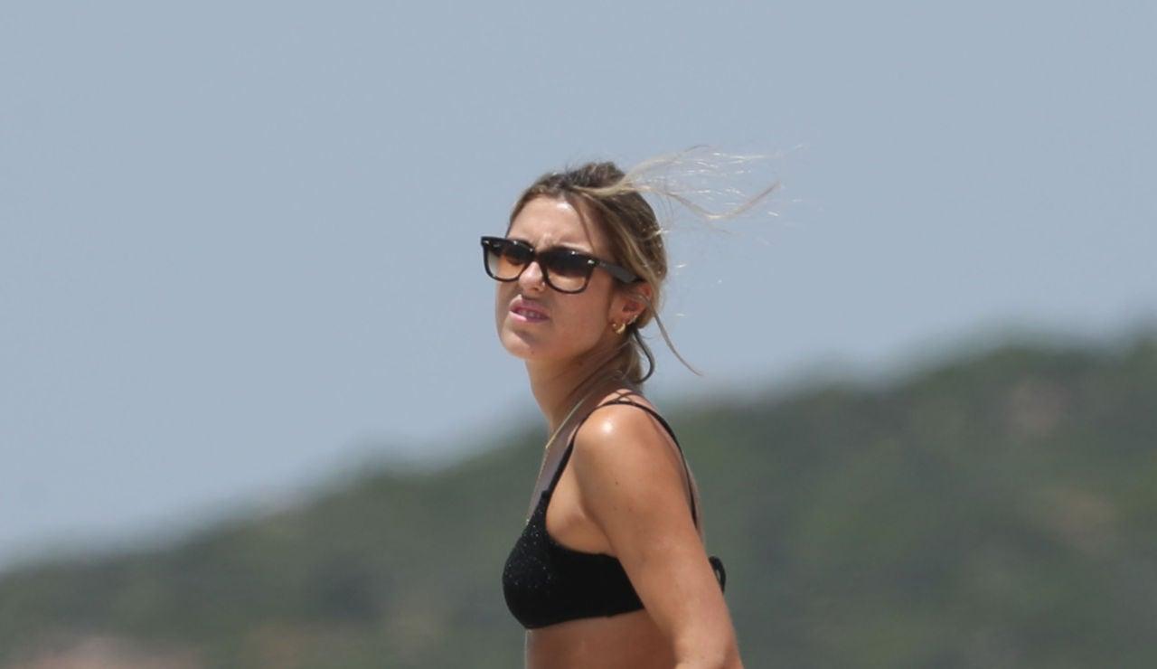 Anna Ferrer luciendo cuerpazo en Cádiz