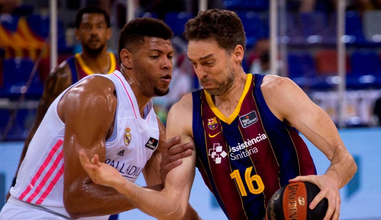 El Barcelona gana la ACB al superar al Real Madrid en el segundo partido de la final