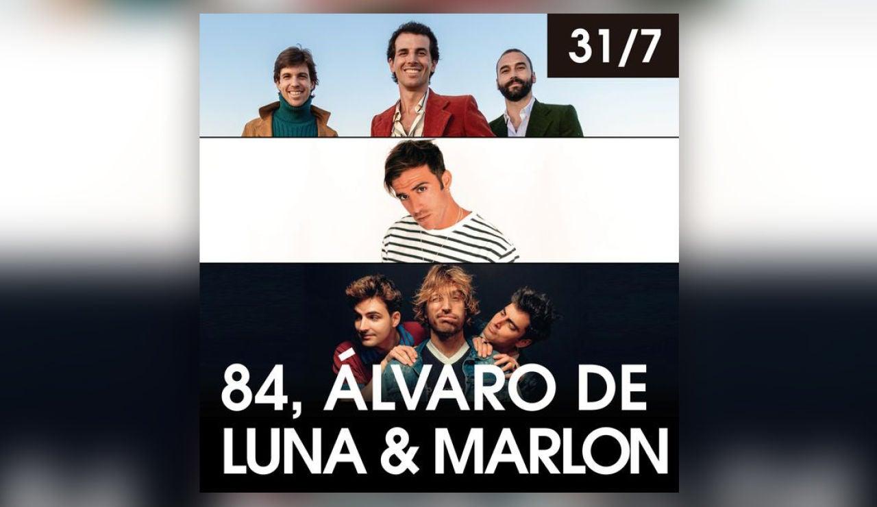 84, Álvaro de Luna & Marlon en Starlite el sábado 31 de julio