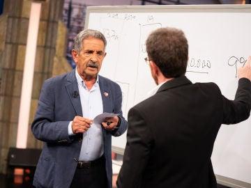Miguel Ángel Revilla muestra gráficamente en 'El Hormiguero 3.0' sus previsiones económicas