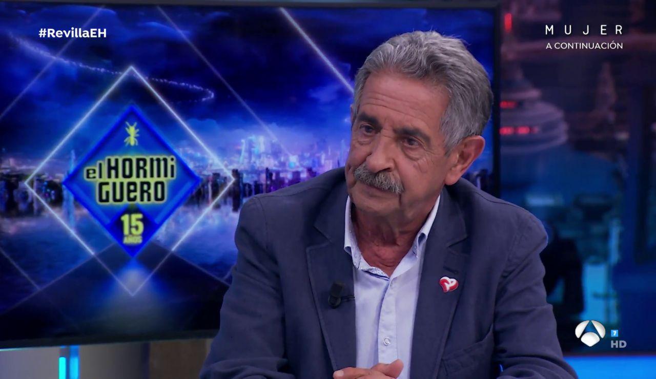 """Miguel Ángel Revilla aclara su polémica con el puro: """"Sentí una vergüenza..."""""""