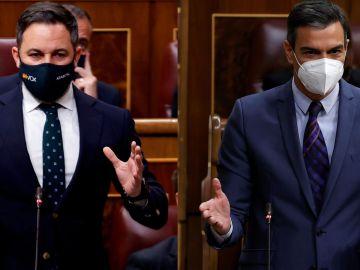 """Abascal espera que Sánchez acabe """"delante de un tribunal"""" y el presidente le acusa de """"añorar el Franquismo"""""""