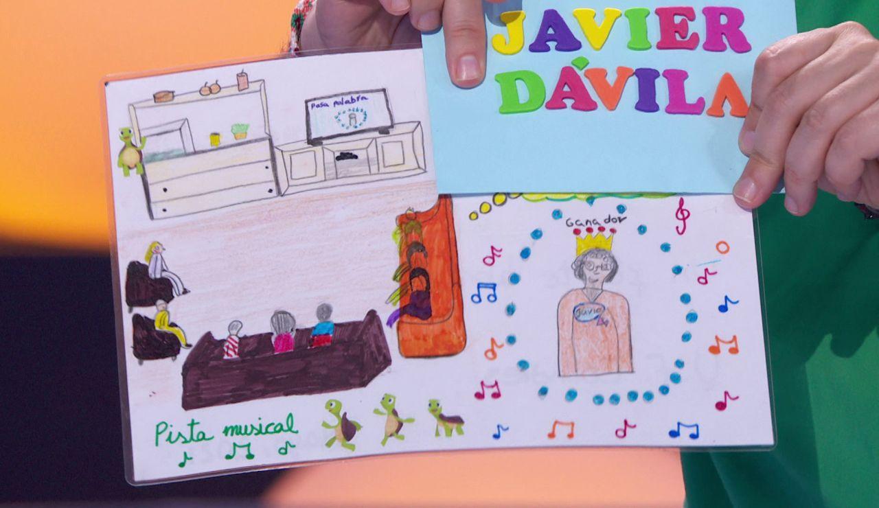 """Javier recibe una carta muy especial de unos adolescentes que no pueden estar con sus familias: """"Dicen que me quieren"""""""