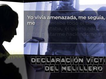 Declara la víctima del Melillero.