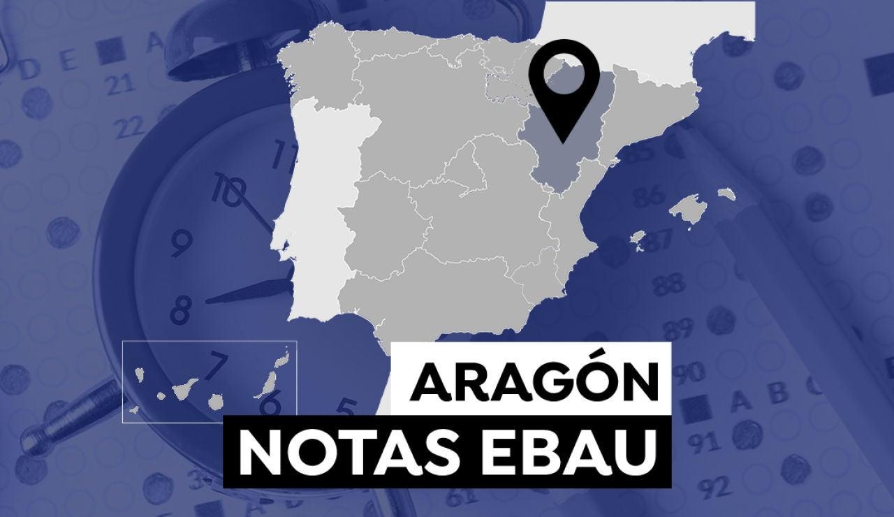 Notas de la Evau en Aragón 2021: Consultar el resultado de selectividad
