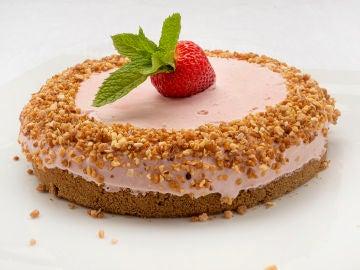 Tarta helada de fresas: cómo conseguir que no se cristalice en el congelador