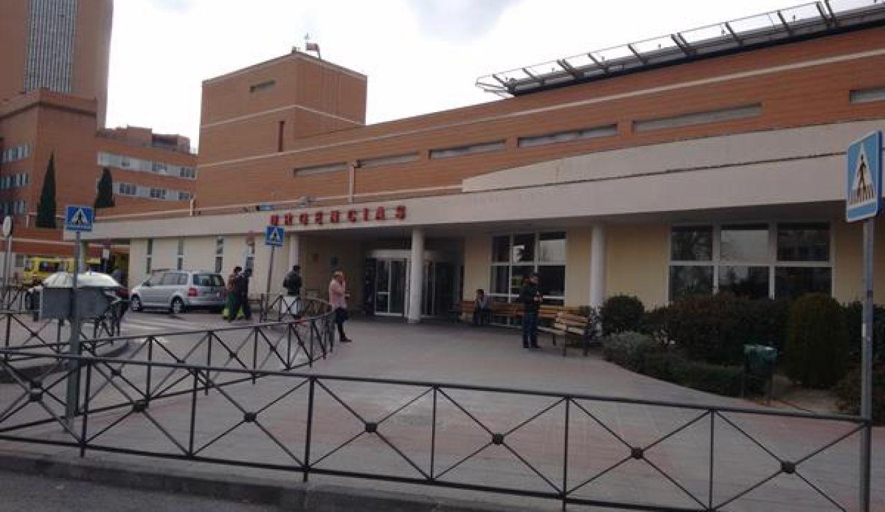 Imagen de la fachada del Hospital 12 de Octubre