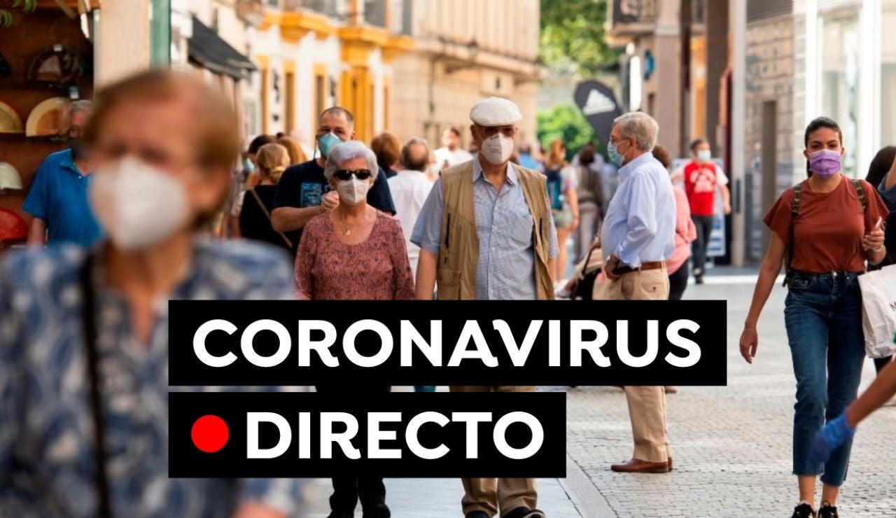 Coronavirus en España hoy: Plan de vacunación, datos y última hora, en directo