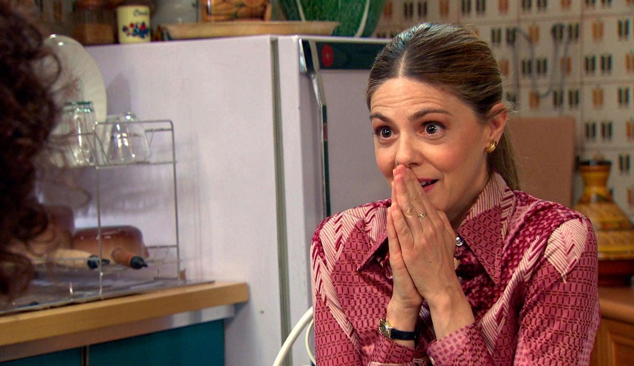 """Maica, asombrada con la confesión de Estefanía: """"¿Eres una agente infiltrada?"""""""