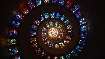 Espiral de vidrieras