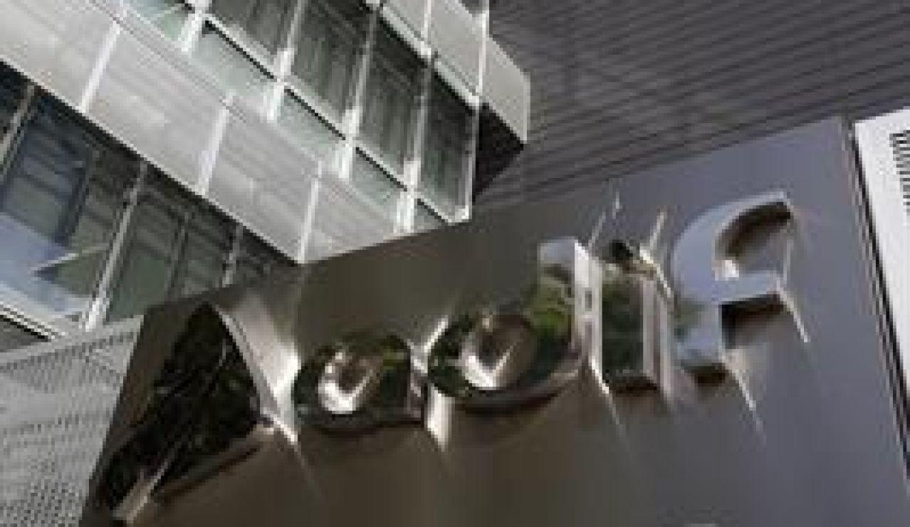 Imagen de la fachada de la sede de Adif en Madrid