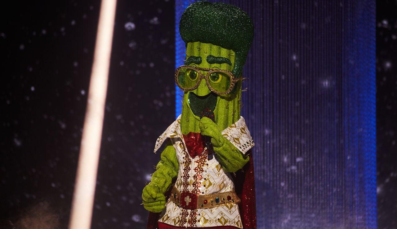 El Cactus se pone sentimental con 'Quédate conmigo' en 'Mask Singer'
