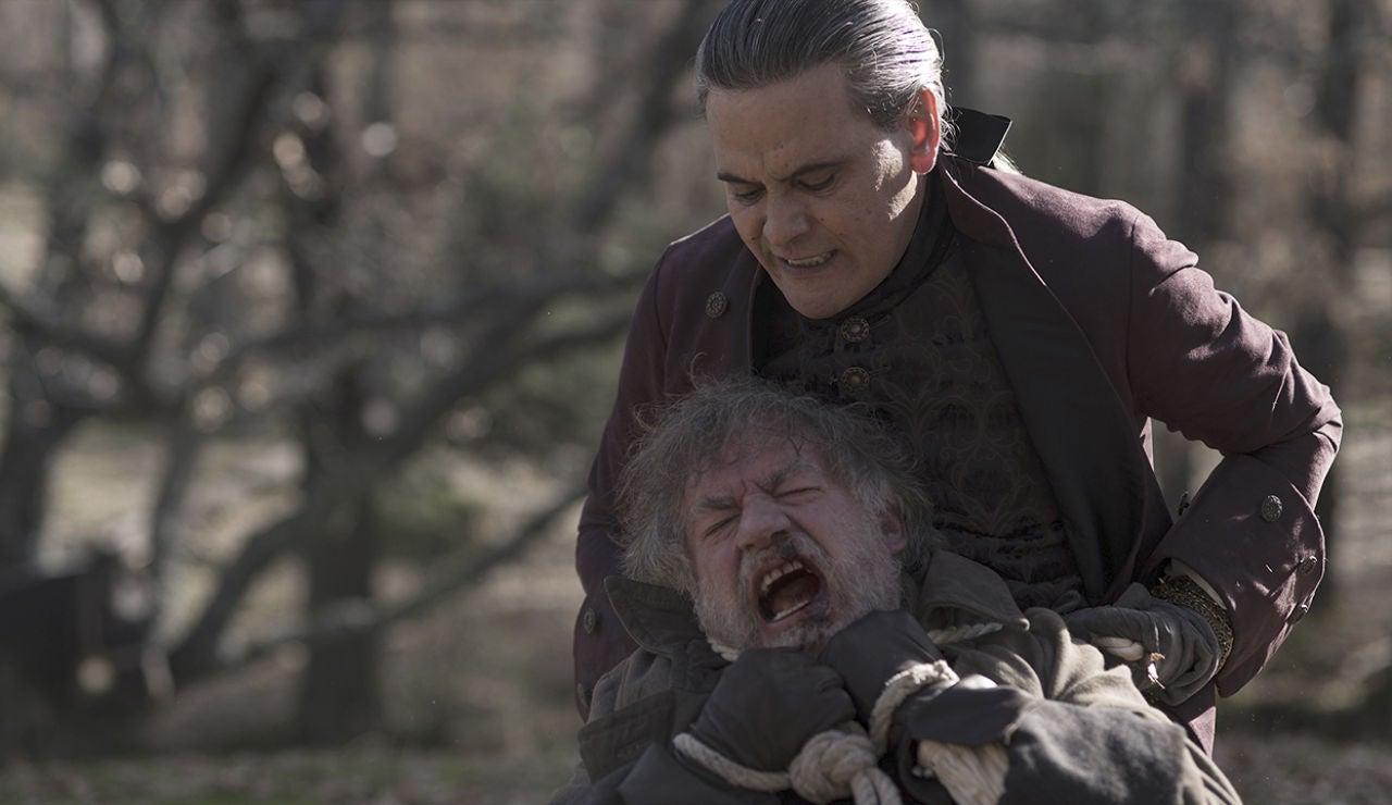 """Diego tortura a Hernaldo de la Marca y descubre toda la verdad: """"¡Que busquen a Sol Montijos ya!"""""""