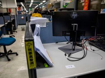 Detenidos 5 periodistas en Hong Kong