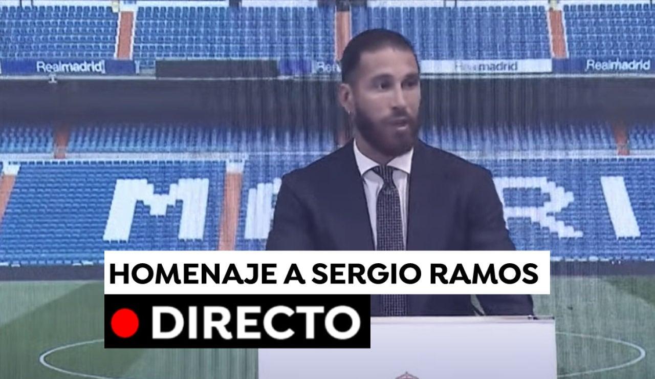 Sergio Ramos, en directo: Rueda de prensa y despedida del Real Madrid