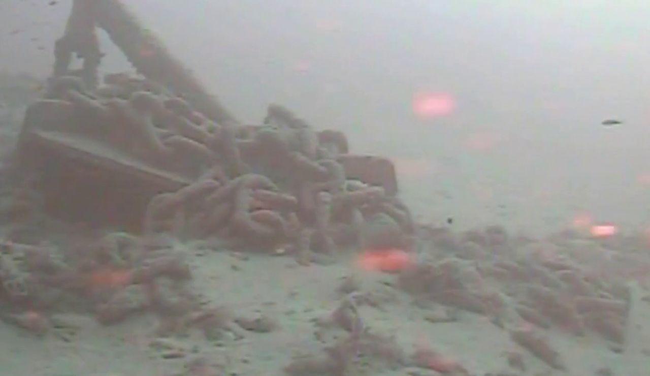 Así son las imágenes que envía el sonar del mar, similares a la que obtiene el buque 'Ángeles Alvariño'