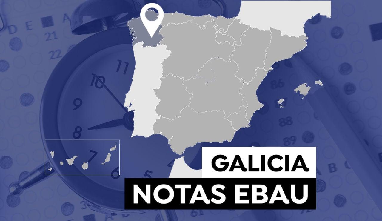 Notas Evau Galicia 2021: Consultar los resultados de selectividad