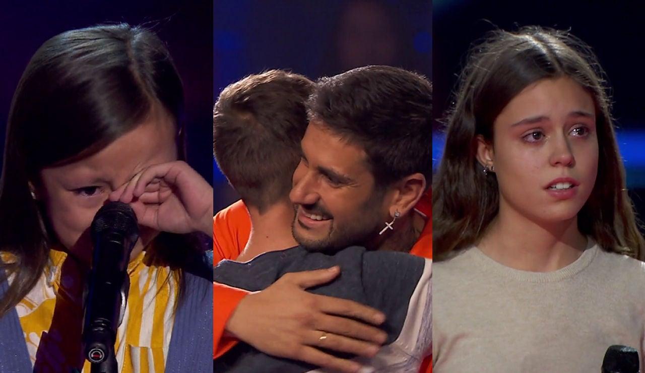 El TOP5 de las sextas Audiciones a ciegas: emoción, lágrimas y decisiones en el último momento