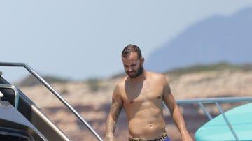 Jesé Rodríguez, fotografiado en Ibiza