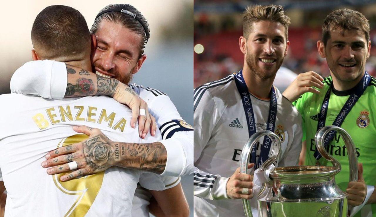 """Los futbolistas del Real Madrid y el mundo del fútbol despiden a Sergio Ramos: """"El mejor defensa de la historia"""""""
